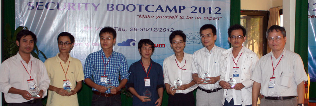 Security Bootcamp 2012